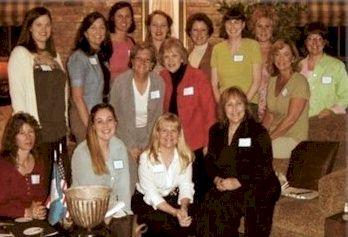 Organizing Members of Sarah Polk Chapter, DAR, Brentwood TN