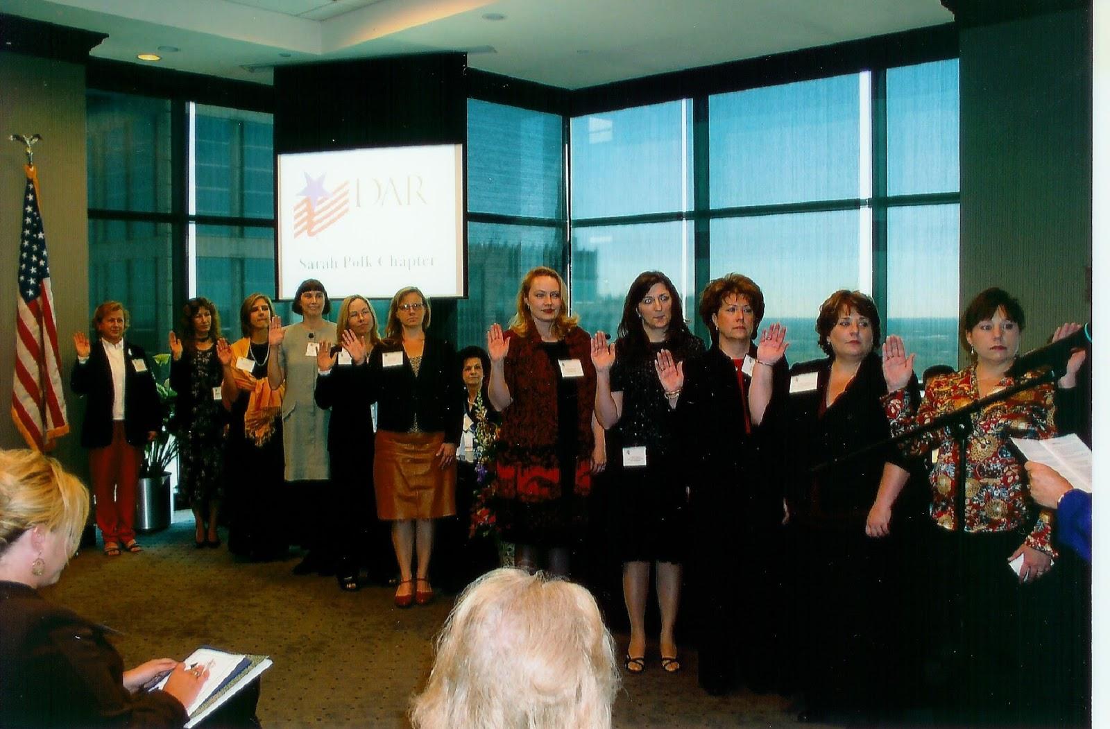New members initiated at Organizing Meeting